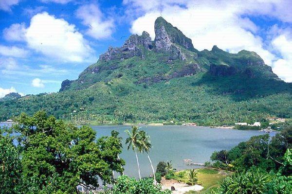 Остров Бора-Бора - Французская Полинезия
