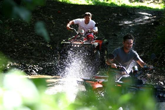 Квадроциклы на Бора-Бора