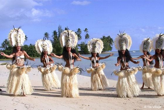 Традиционные танцы на Бора-Бора