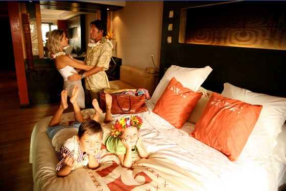 Семейный отдых на Бора-Бора