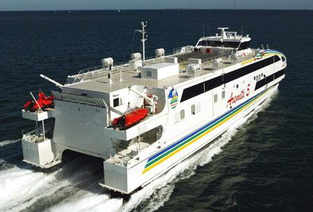 Трансферный паром между Таити и Муреа - Aremiti 5