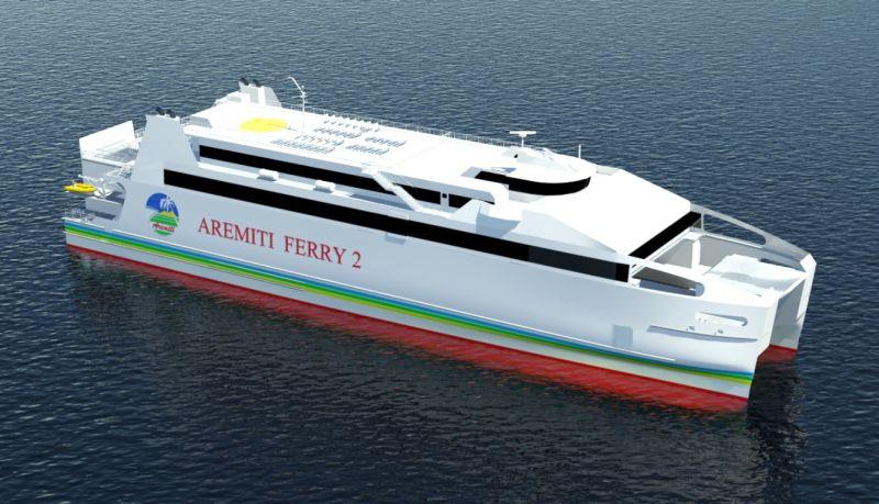 Трансферный паром между Таити и Муреа - Aremiti Ferri 2