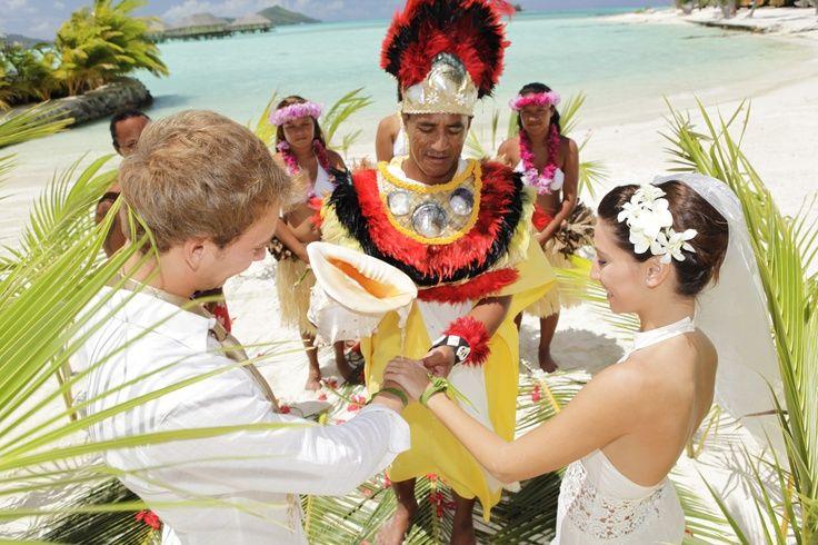 Традиционная свадьба на Бора-Бора