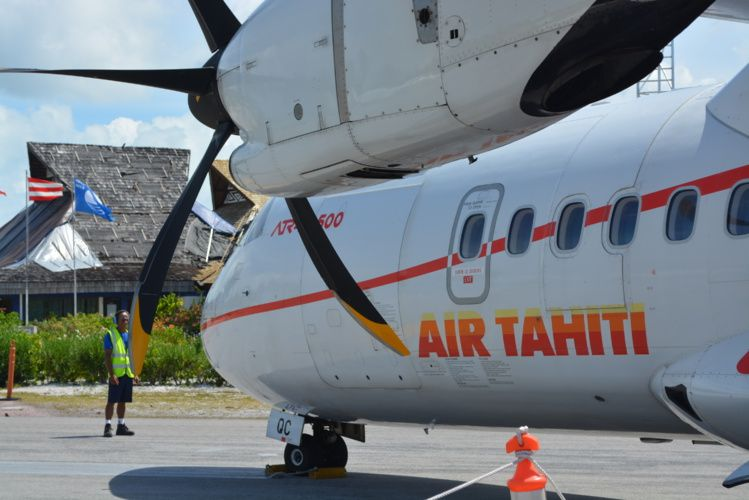 Самолет внутренних авиалиний - Air Tahiti