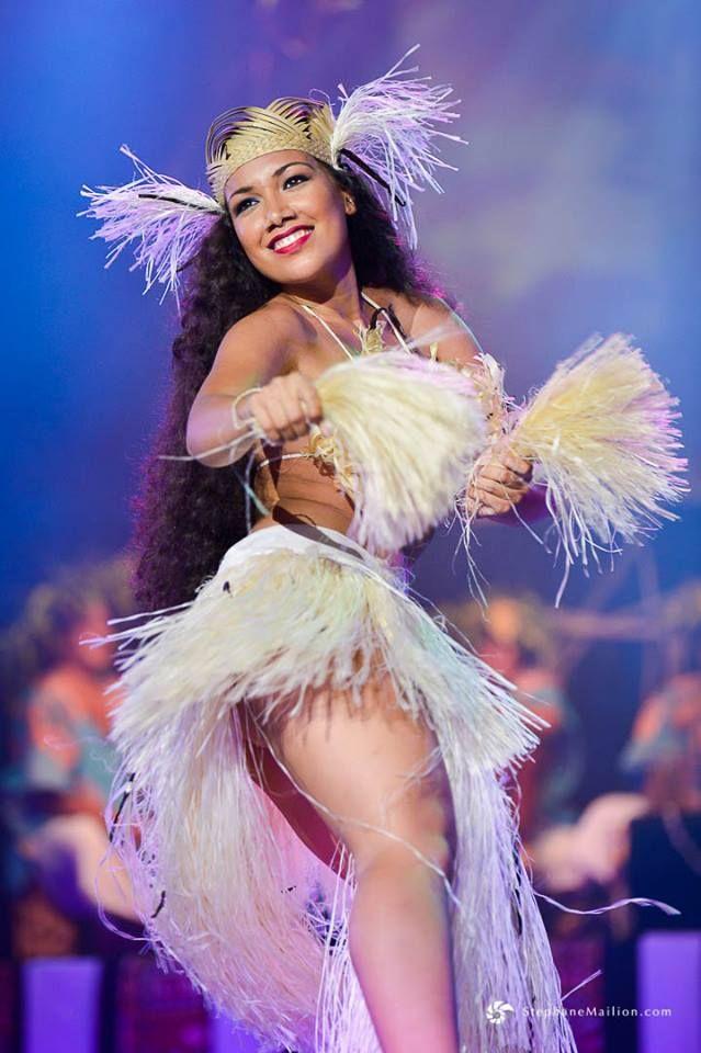 """Танцовщица на Таити (коллектив \""""Hei Tahiti\"""")"""