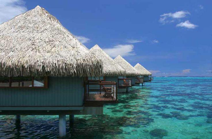 Бунгало на Таити.