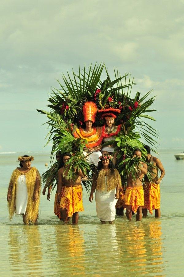 Свадьба на Таити.