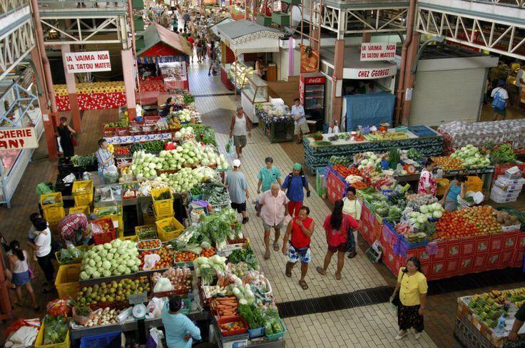 Рынок Папеэтэ, первый этаж